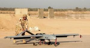Un dron militar.