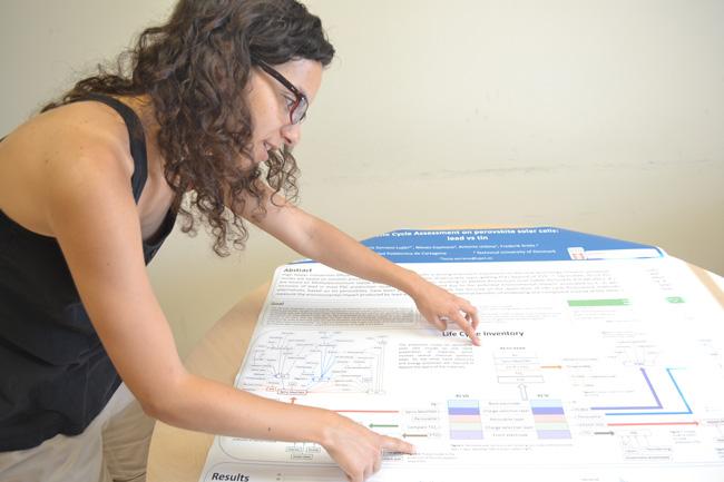 Lucía Serrano, investigadora de la UPCT.
