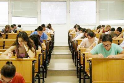 Examen de Selectividad en Jaén.