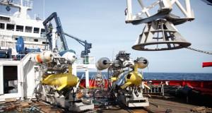 Submarinos empleados en la exploración de las fallas de Alborán.