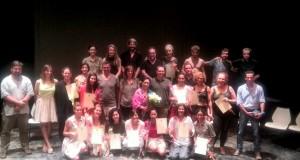 Los alumnos del Máster de Danza han recibido su diploma.