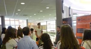 Los estudiantes han conocido qué se hace en la EPSJ.