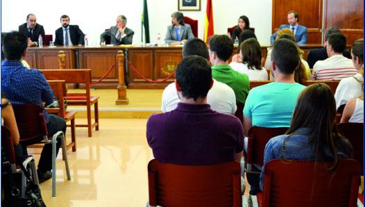 Aula Judicial de la UAL.