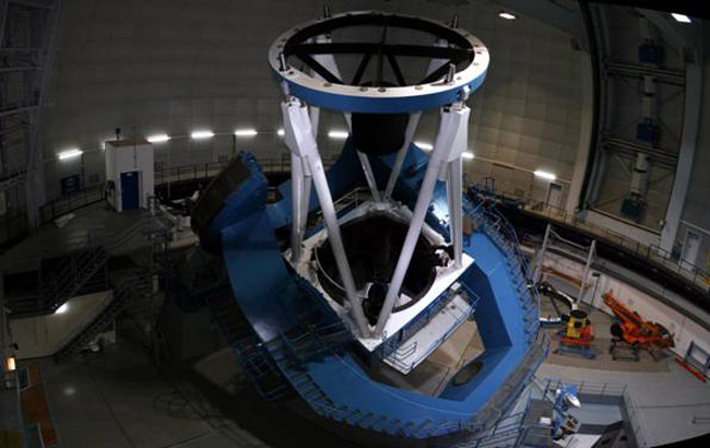 Telescopio de 3,5 metros de Calar Alto.