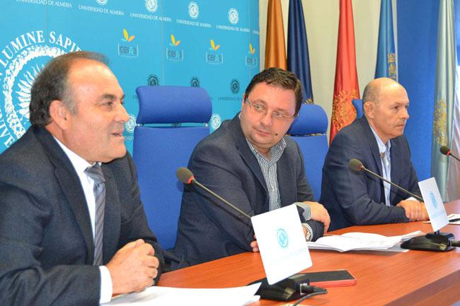 Sánchez Palomino,  Antonio Codina y Pablo Pumares.