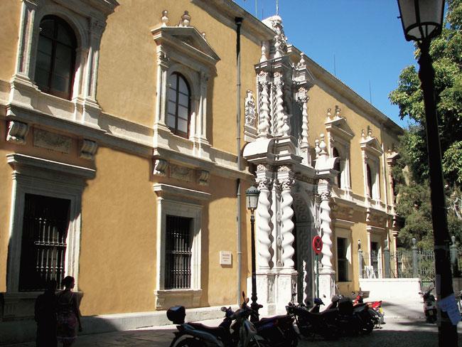 Facultad de Derecho de la UGR.
