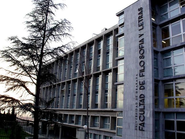 Facultad de Filosofía y Letras de la UGR.