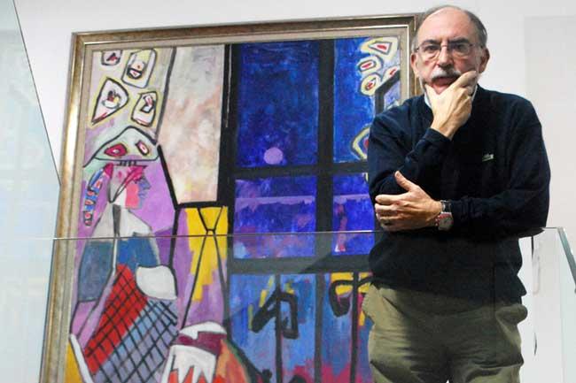 Juan Bautista Sanz en la Fundación Pedro Cano