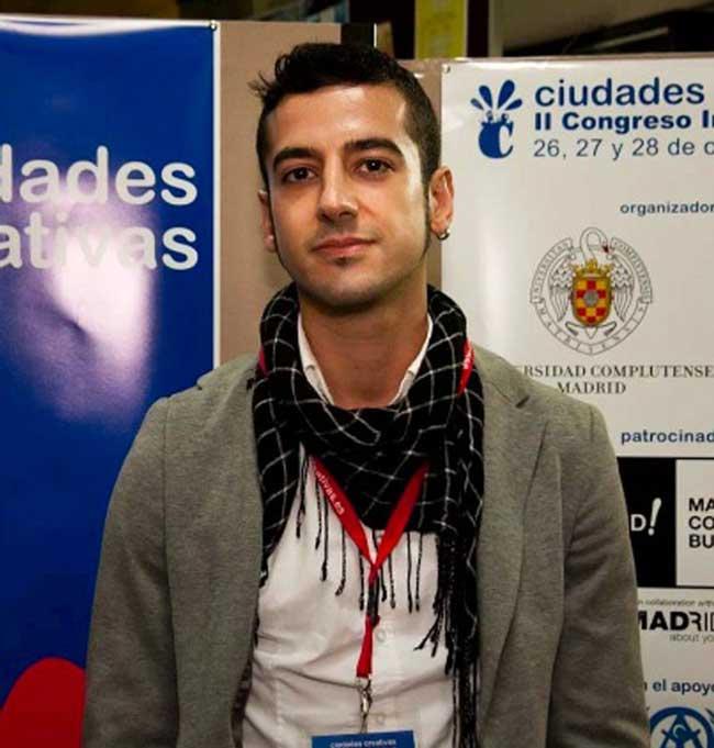 El investigador premiado, Alfonso Baya Gallego