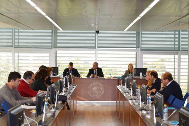 Reunión del Consejo Social de la UAL.