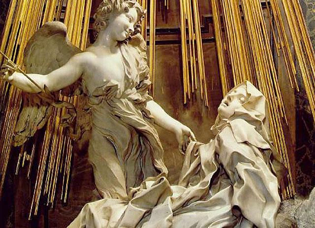 Bernini firmó una de las mejores representaciones de Teresa de Jesús.