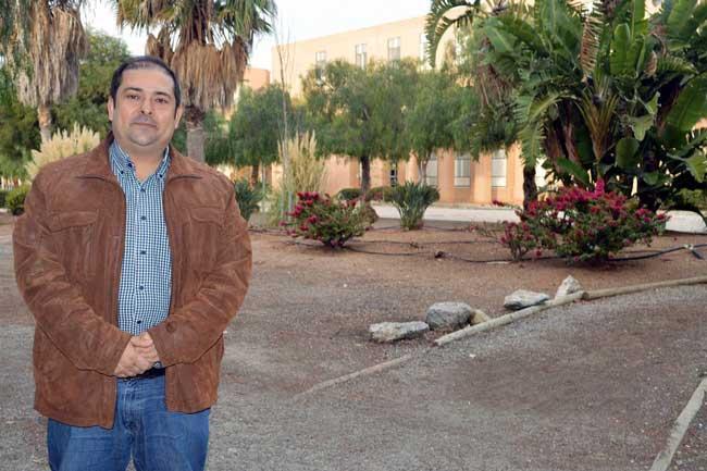 El profesor e investigador de la UAL, José Antonio Torres