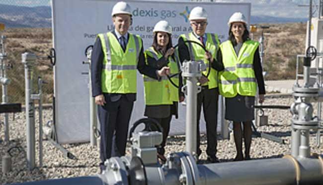La red de gas natural distribuye a casi toda andaluc a for Gas natural malaga