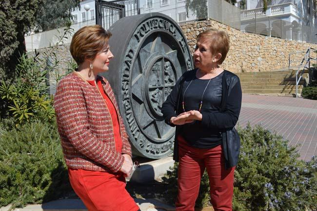 Inocencia Martínez y María Dolores Miguel.
