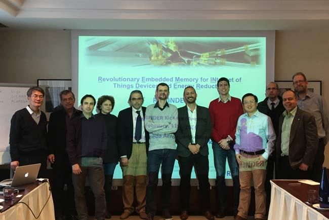 Grupo de investigadores del proyecto REMINDER.