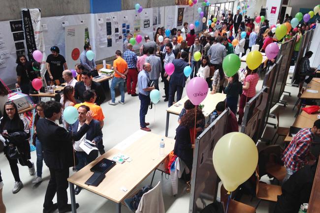 La Feria tendrá lugar en el Aulario IV de la Universidad de Almería. En la foto, edición del pasado año.