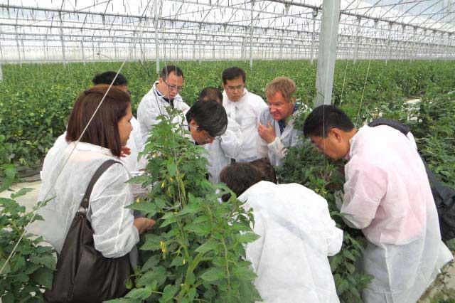 Investigadores de todo el mundo se interesan por la agricultura almeriense.