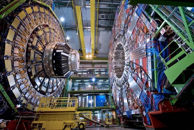 Acelerador de partículas del CERN.
