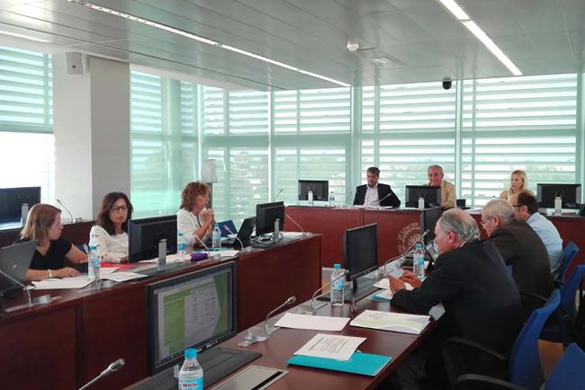 Pleno del Consejo Social de la UAL.