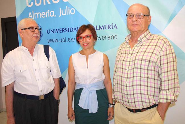 Antonio Mendoza, María del Mar Ruiz y Pedro Cerrillo.