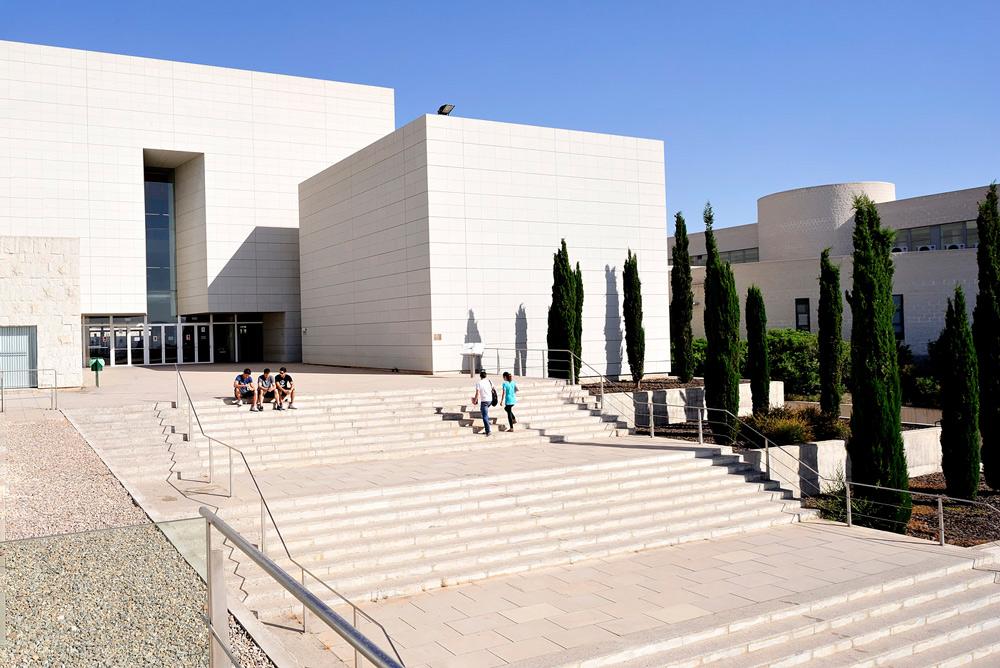 Biblioteca central del Campus del Espinardo.