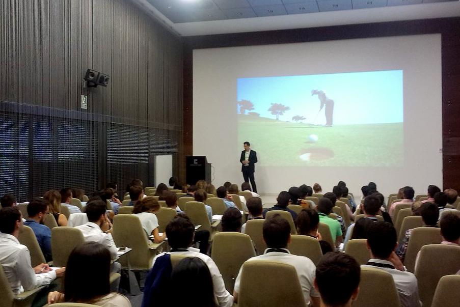Jesús Alcoba en el Seminario Líderes del Futuro.