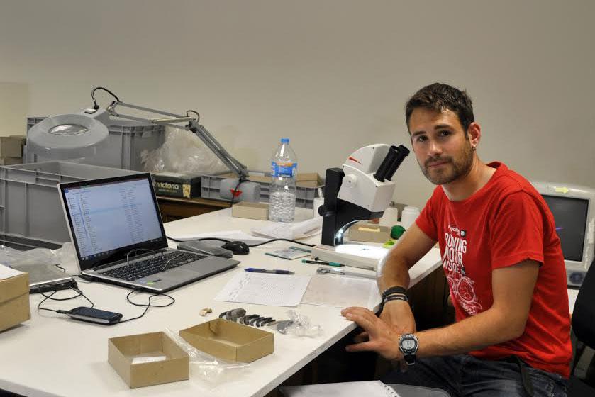 Francisco Martínez Sevilla, investigador de la UGR.