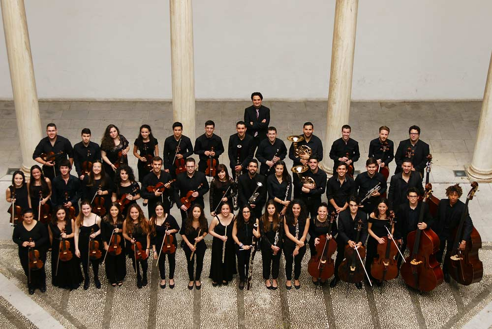Orquesta de la UGR.