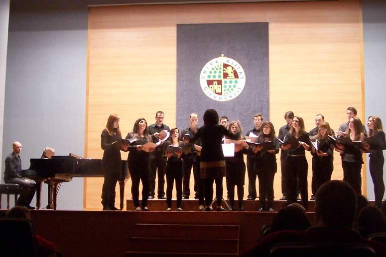Coro de la Universidad de Jaén.