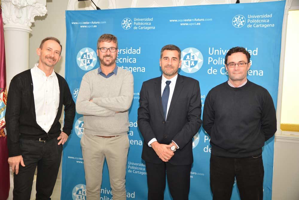 Mathieu Kessler, Antonio Gómez, Hugo de Juan y Alejandro Pérez.