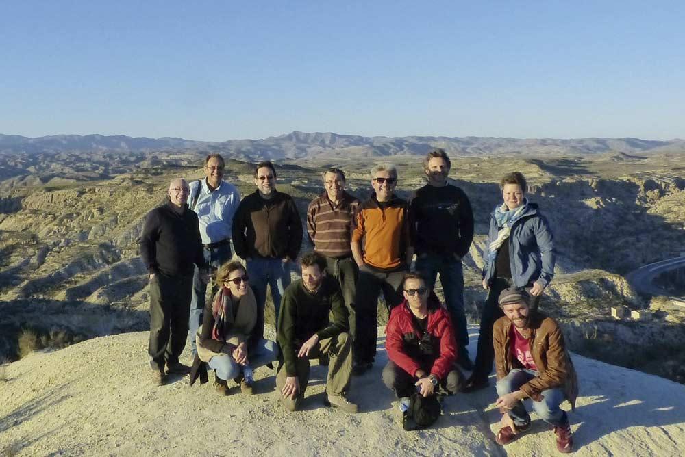 Investigadores que visitaron Almería.