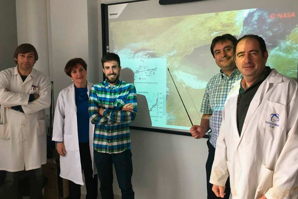 Eulogio Corral, Presentación Carrillo, Marco Jabalera, Juan Manuel Medina-Sánchez y Manuel Vilar-Argaiz.