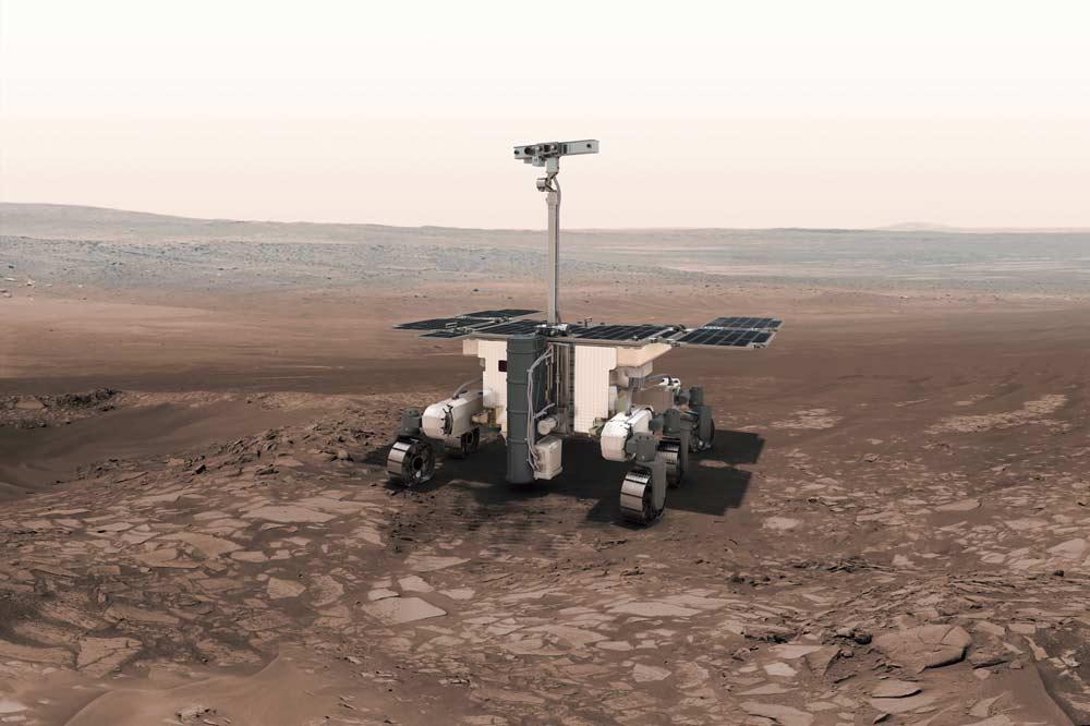 Rover que la ESA pondrá en Marte en 2020.