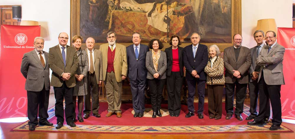 Comisión del V Centenario de la UGR.