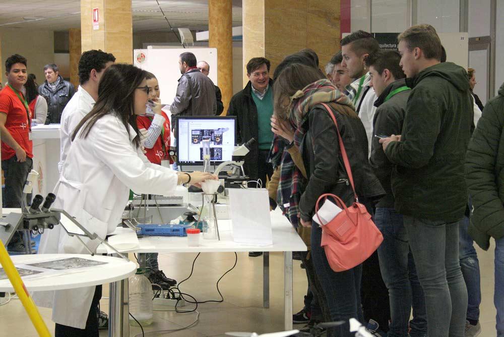 Participantes en el programa Estudiar en la UJA.