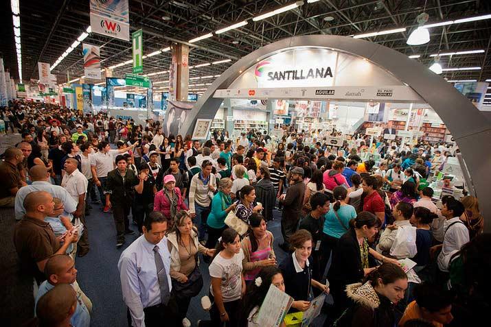 Feria del libro de Guadalajara.