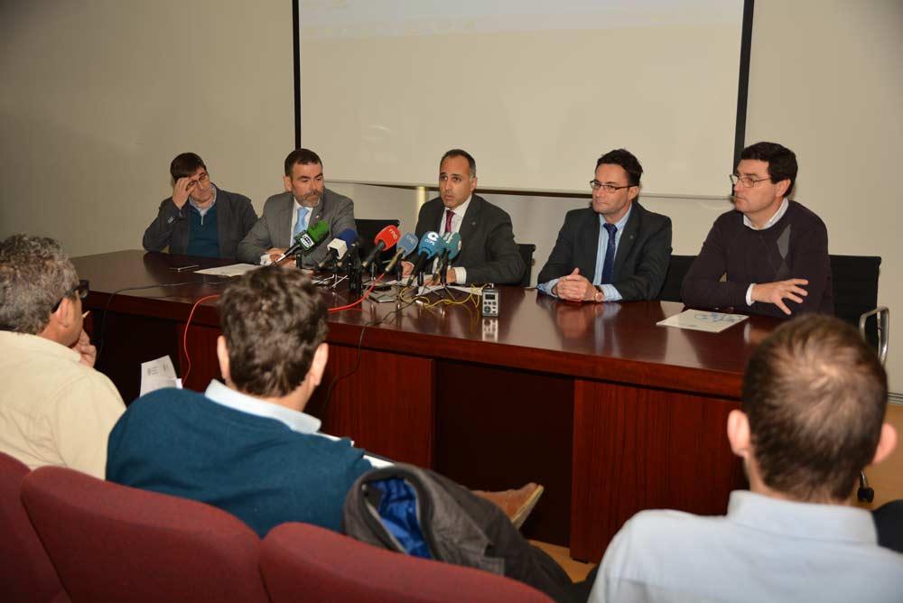 Presentación de los resultados de la Cátedra de Infraestructuras de la UPCT.