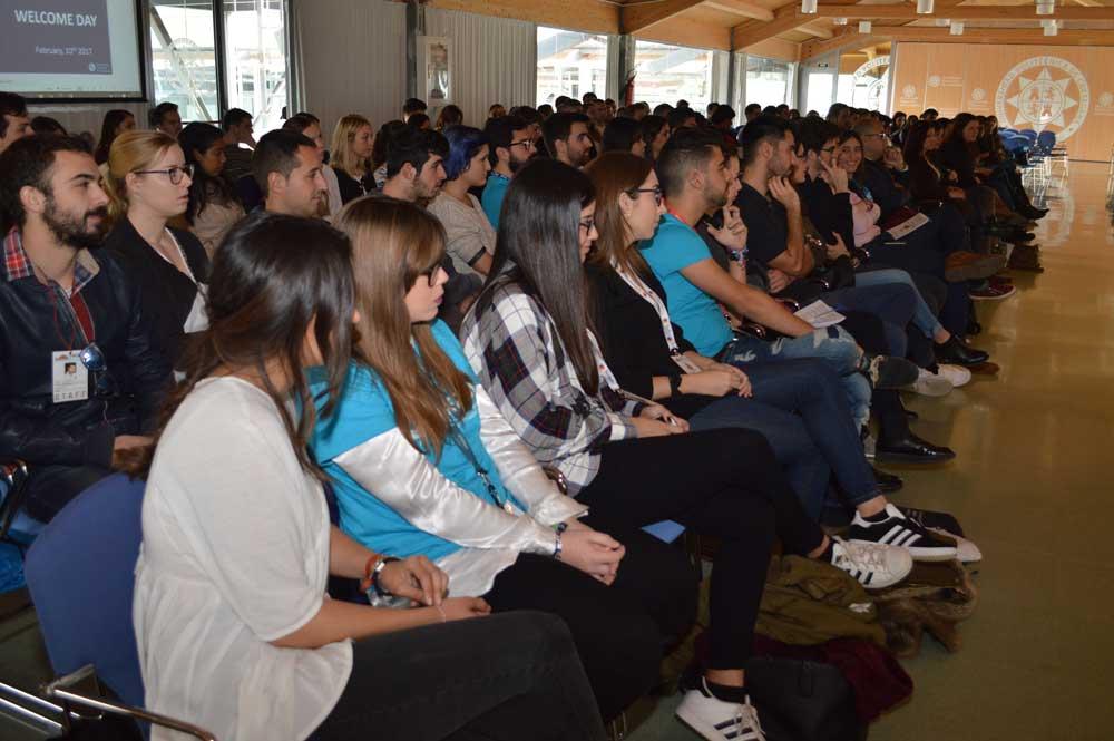 Estudiantes internacionales de la UPCT.