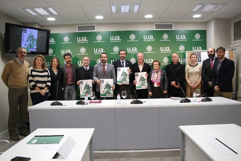 Presentación en la UJA de los Campeonatos de Andalucía Universitarios.