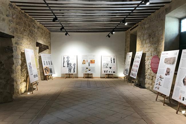 Exposición sobre la Mujer Íbera en Castellar (Jaén).