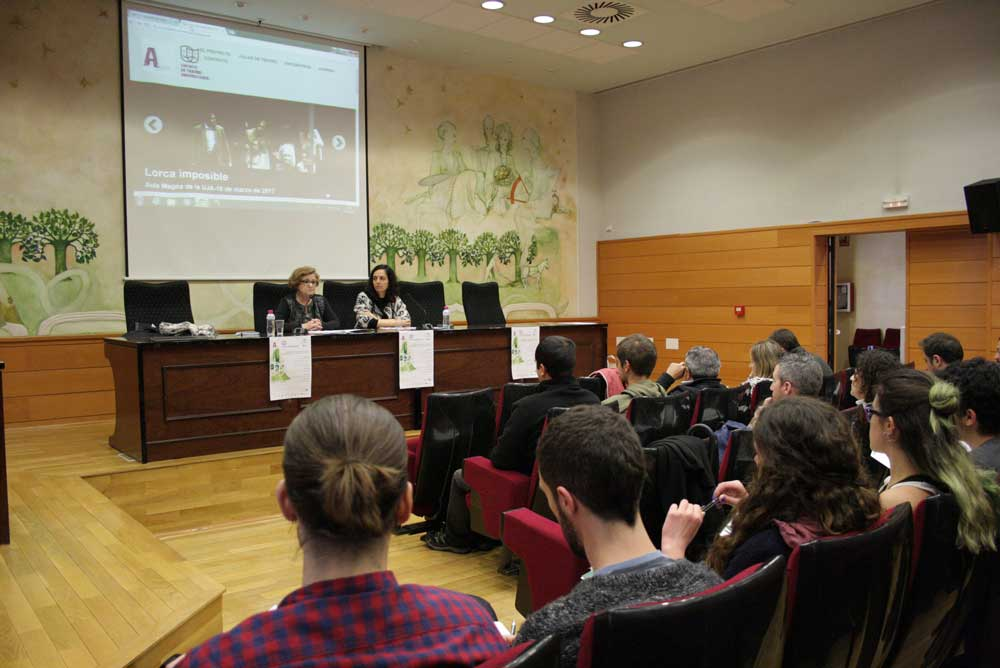 Asamblea de las Aulas de Teatro Universitarias en la UJA.