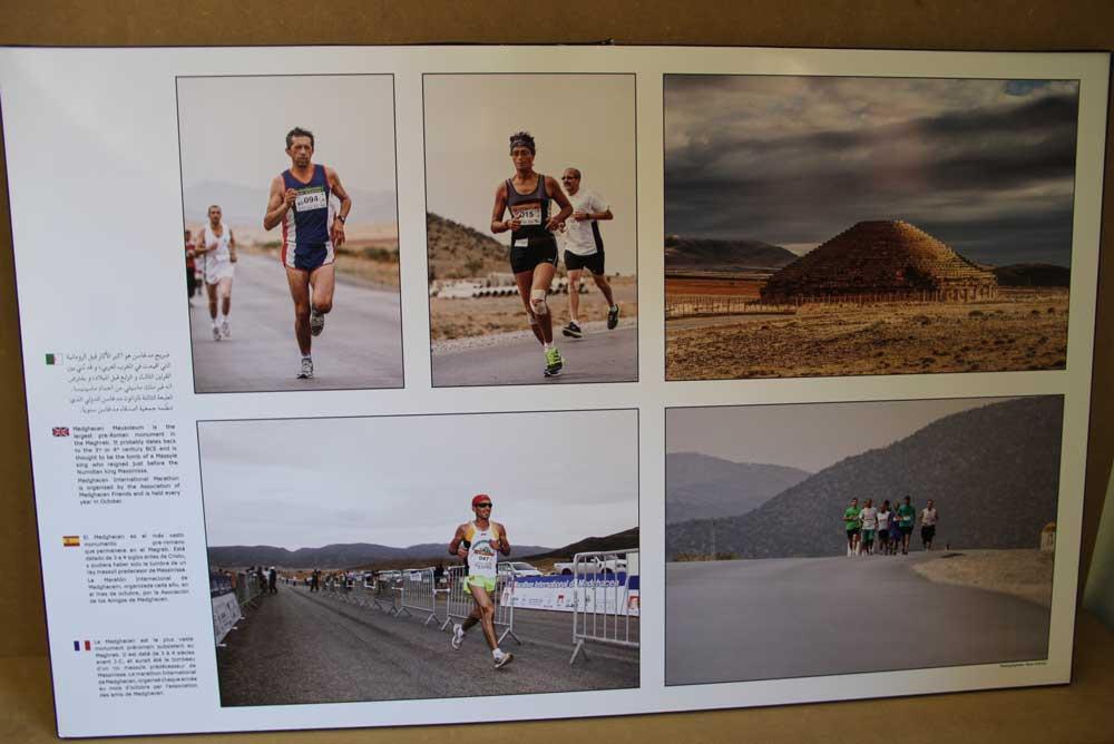 Una de las imágenes que componen la muestra sobre Argelia en la UCAM.