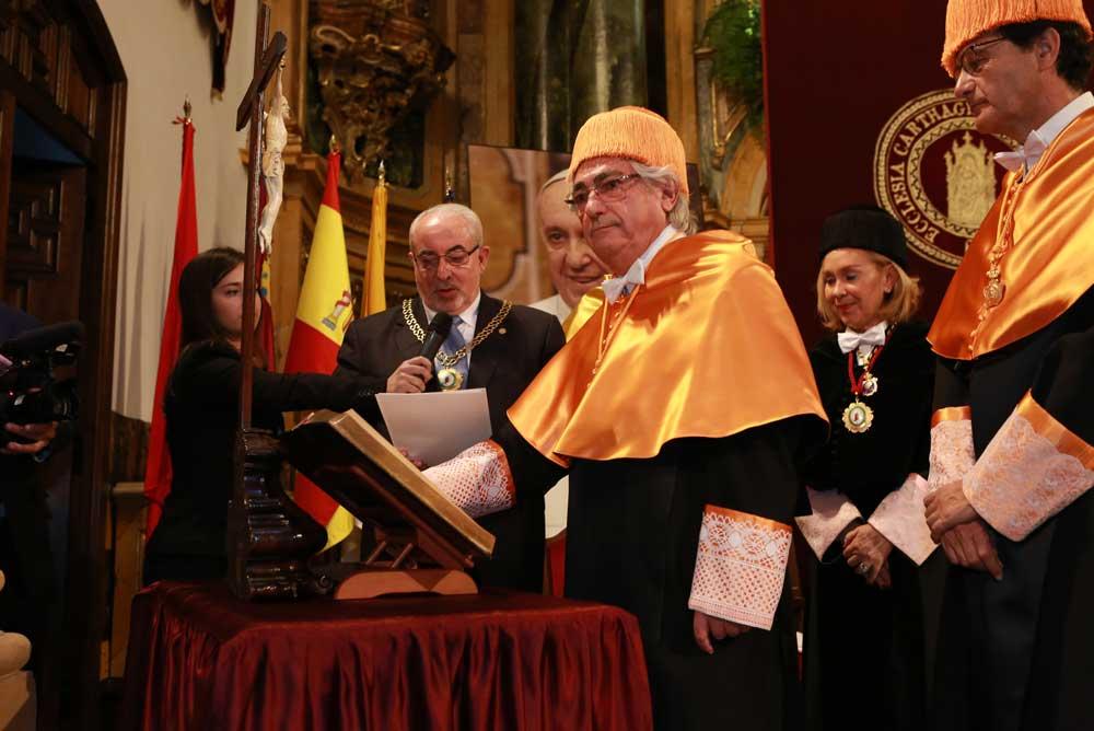 Manuel Lao, nuevo honoris causa por la UCAM.
