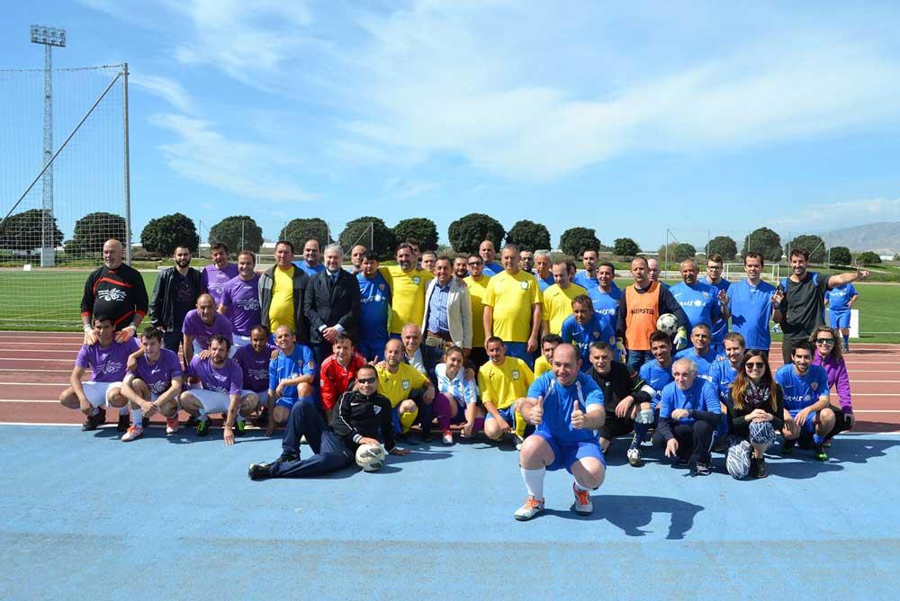 Participantes en el Tiquitaca por la Salud Mental.