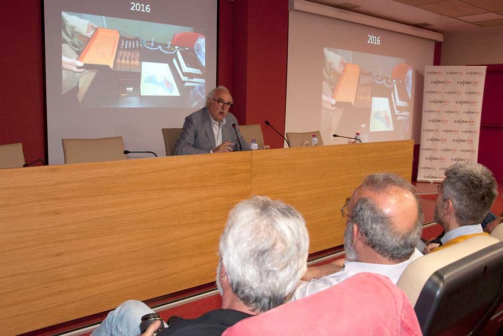 Bartolomé Ruiz ha hecho un recorrido por la historia de los Dólmenes de Antequera.