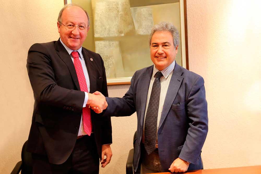 Carlos Gross y Juan Antonio García Galindo.