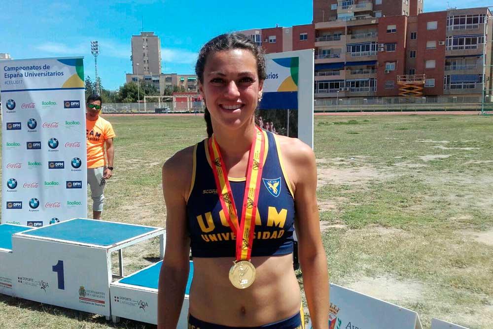 Chiara Torrisi es una de las medallistas de la UCAM.
