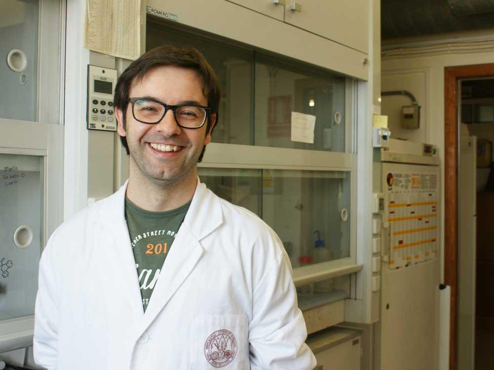 José Antonio García López, del Grupo de Química Organometálica de la Universidad de Murcia.