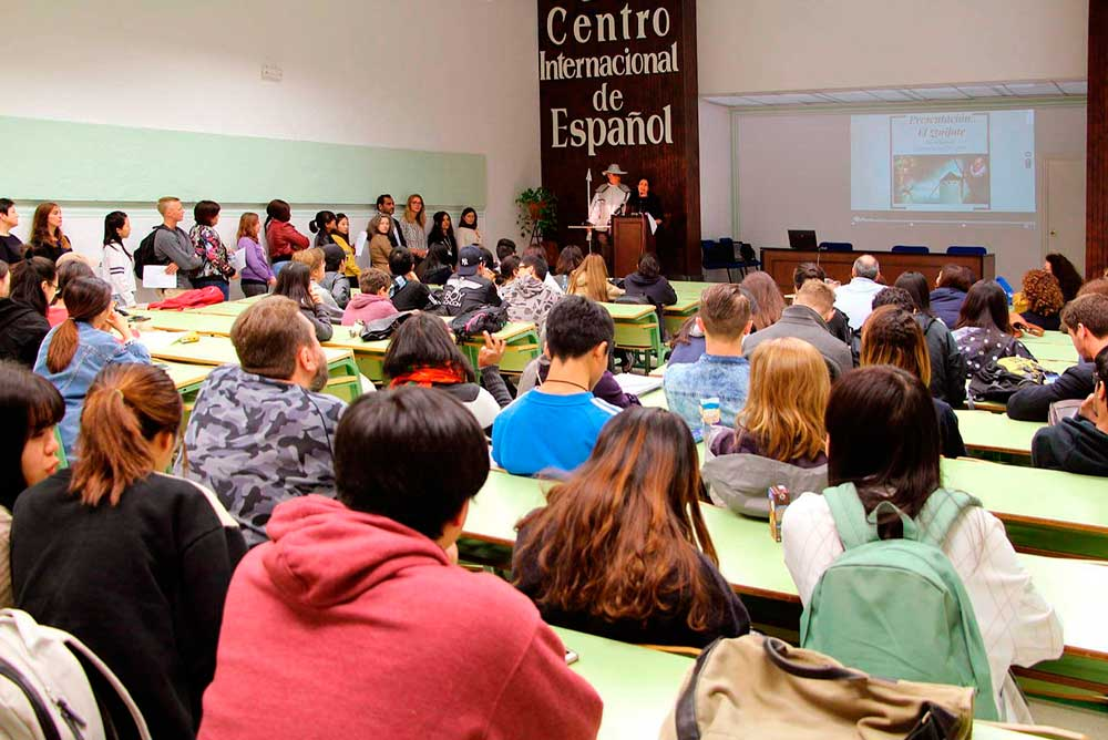 Jornada sobre El Quijote para alumnos extranjeros en la UMA.