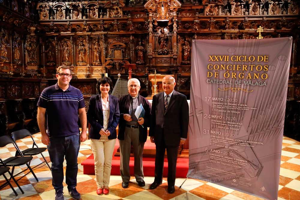 Presentación del Ciclo de Órgano de Málaga.